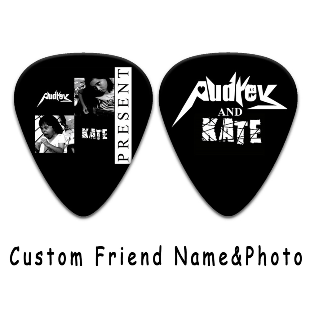 1000 2000pcs Custom Personalized electric Guitar Picks Can Print Your Own photos guitar accessories