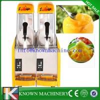 12L*2 slush making machine, commercial snow slush machine/slush drink machine/commercial slush maker