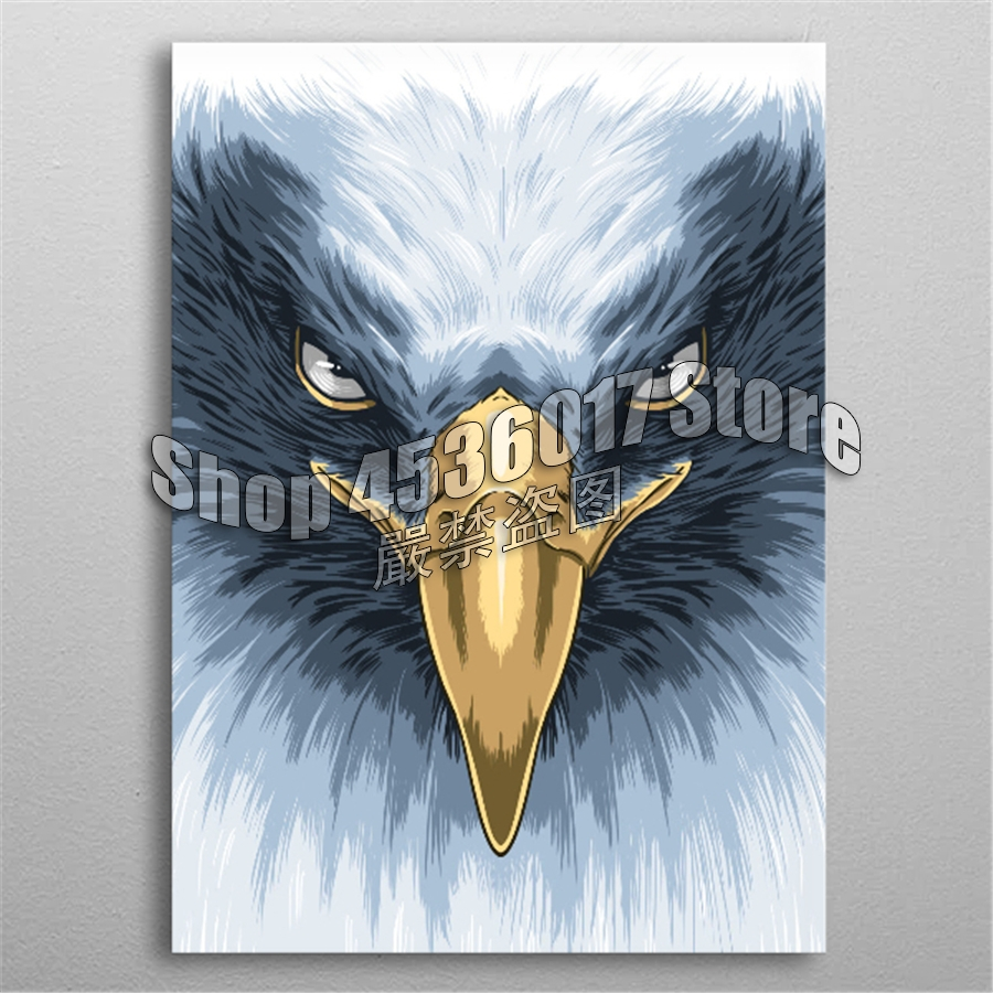 5D DIY Diamond Painting Full Diamond Embroidery animal Face Eagle Diamond Mosaic Cross Stitch Home Decor Arts & Crafts Supplies