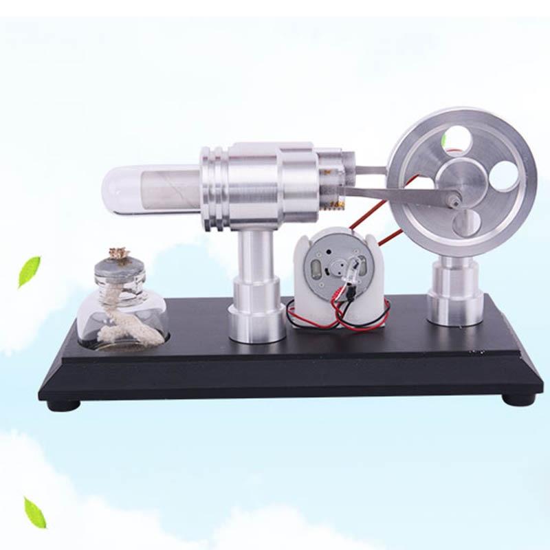 Sterling Engine Micro Engine Steam Engine Power Model DIY Mini Sterling  Generator