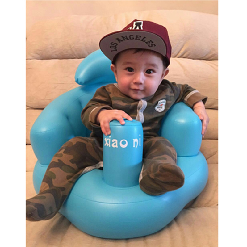 Russia Shipping Baby Kid Children Inflatable Bathroom Sofa Chair Seat Learn Portable Multifunctional S7JN