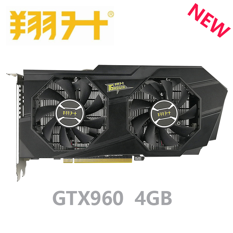 ASL <font><b>GTX</b></font> <font><b>960</b></font> 4GB NVIDIA Graphics Card 4GB GDDR5 128bit PCI-E X16 3.0 GTX960 4G PC Gaming Video Card image