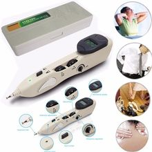 Acupuncture tens electro muscle stimulation device with auto