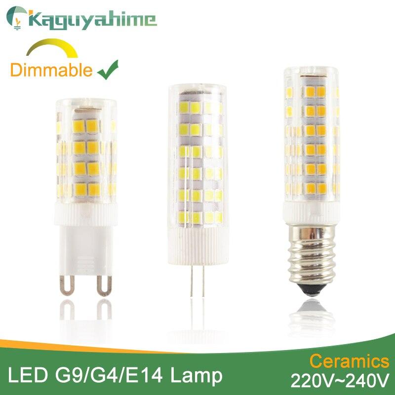 10X G9 4W Equivalent 40W LED Light Halogen Bulb 400LM 110V Ceramic Lamp WJ
