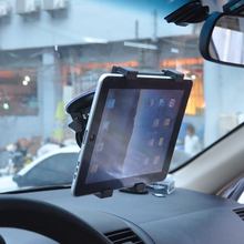 Car GPS Tablet Support 7 to 11 Inches Universal Suction Cup Mounting Car Windshield 360 Degree Rotary for iPad Samsung Tablet
