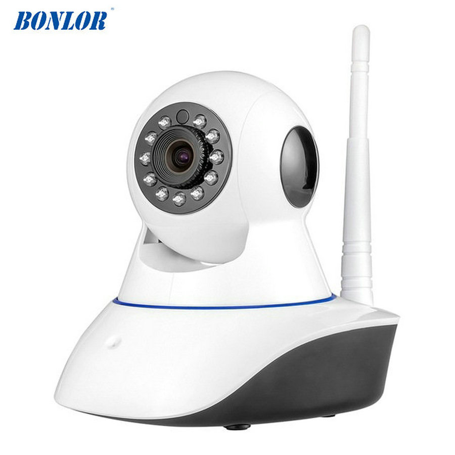 BONLOR 720P HD Wifi Wireless Home Security IP Camera Security Network CCTV Surveillance Camera IR Night