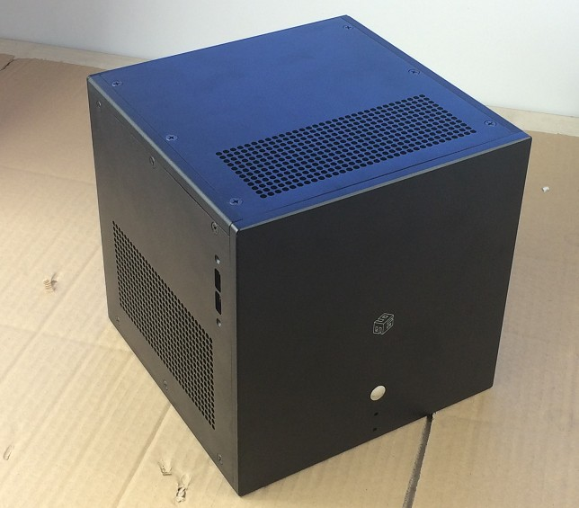 aluminum chassis ITX Air-cooled Computer Case / Enclosure /case/DIY box (216*216* 216 mm) цена