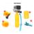 Xiaomi yi 4 k acessórios set kit gopro para gopro hero 5 4 3 + xiaomi yi sjcam eken h9 h8 soocoo action camera VS19