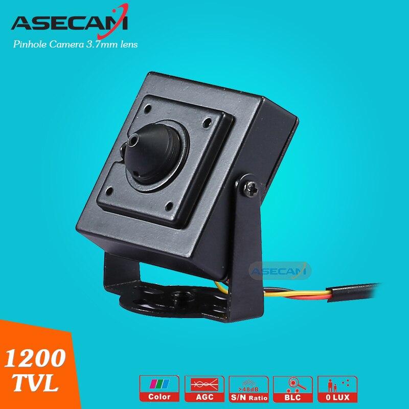 bilder für Spezialität Sony 960 H CCD Effio 1200TVL Kleine Mini Videoüberwachung Cam Pinhole 3,7 MM objektiv Sicherheit Cctv-kamera Freies verschiffen
