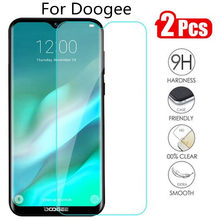 2PCS Tempered Glass For Doogee S55 S60 S70 X11 N10 Y8 Y8C Screen Protector For Doogee X90 S90 Y7 Protection Glass(China)
