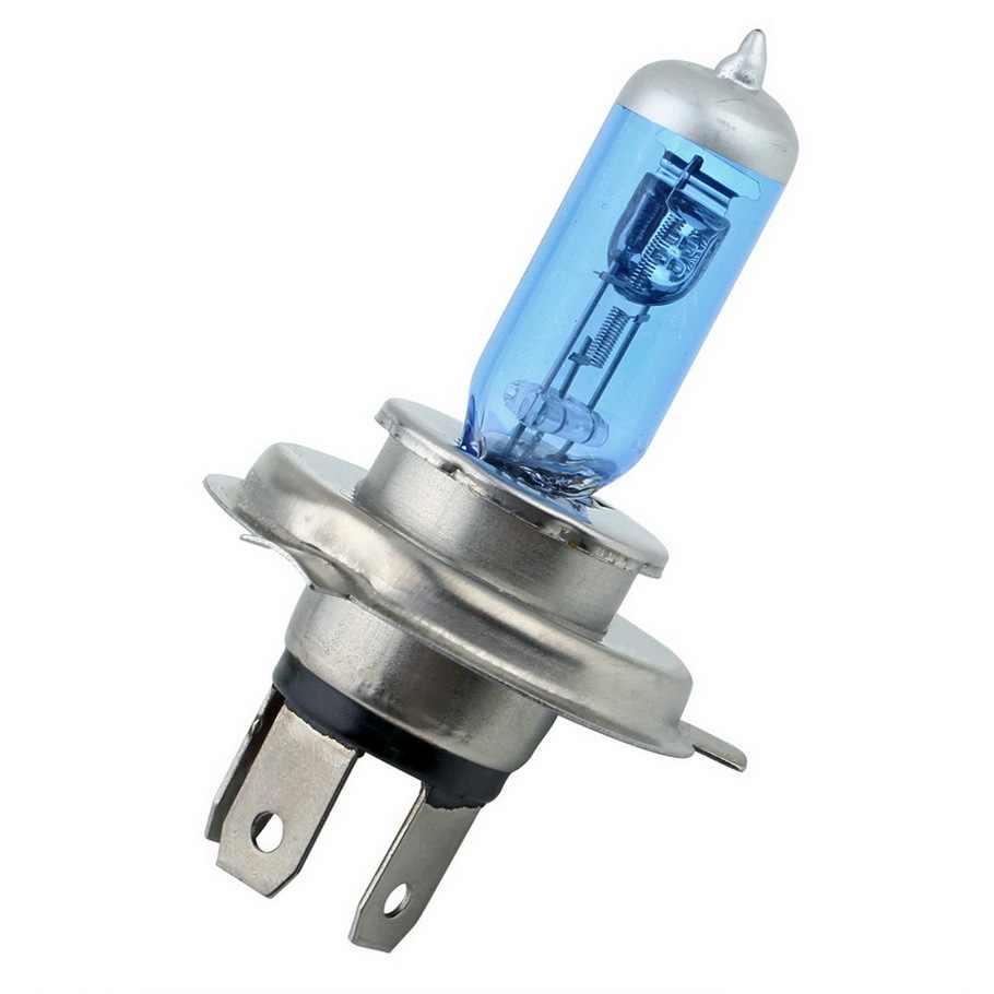 Новинка H4 100W 12V галогенная лампа h4 супер белые Противотуманные фары высокой