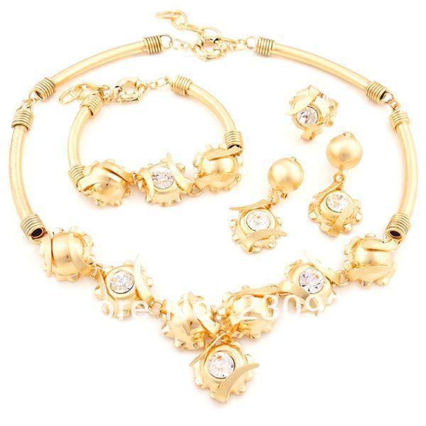 2014 Afriindian Bridal Jewelry Sets Online Pakistani Bridal Dubai