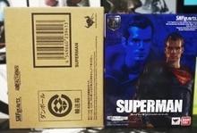 Figura de Superman de la ligas de la justicia, original Bandai