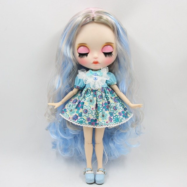 Sadie – Premium Custom Blythe Doll with Clothes Pouty Face