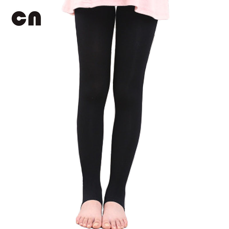 CN Free shipping thin section velvet 11 colors child 4-8 years old girls dancing leggings Girl  pants