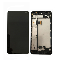 Original For Microsoft Nokia Lumia 650 LCD Display With Touch Screen Digitizer Assembly With Frame Free