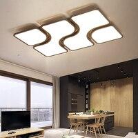 Nordic modern LED ceiling lights bedroom Ceiling lighting home simple Novelty children's room fixtures rectangle ceiling lamps