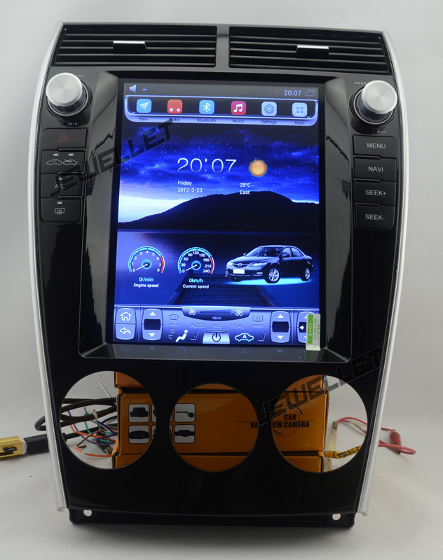 10 4 Vertical screen android 6 0 Quad core Car stereo multimedia video player for Mazda