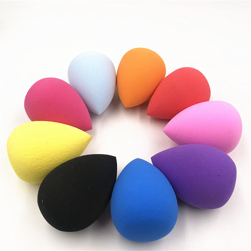 2Pcs Water-drop Shape Cosmetic Puff Powder Puff Smooth Women's Makeup Foundation Sponge Beauty to Make Up Tools Accessories