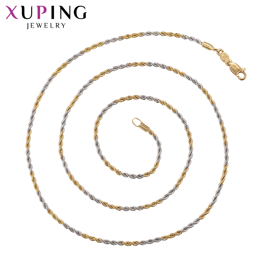 Xuping Necklace Charm Long...
