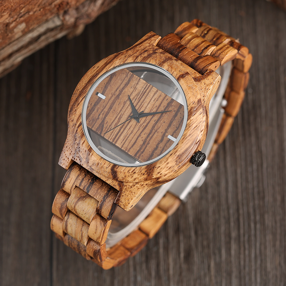 YISUYA Creative Men Hollow Bamboo Wooden Watches Fashion Watches Unique Handmade Wood Wristwatch Sport 17 New Women Relogio 2