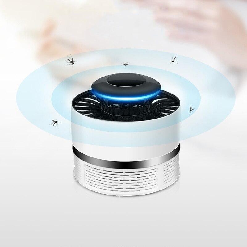 Iguardor Ménage Muet Électronique USB Moustique Tueur Lampe Safty Bug Zapper Insectes Tueur LED Lumière pour Salon Chambre