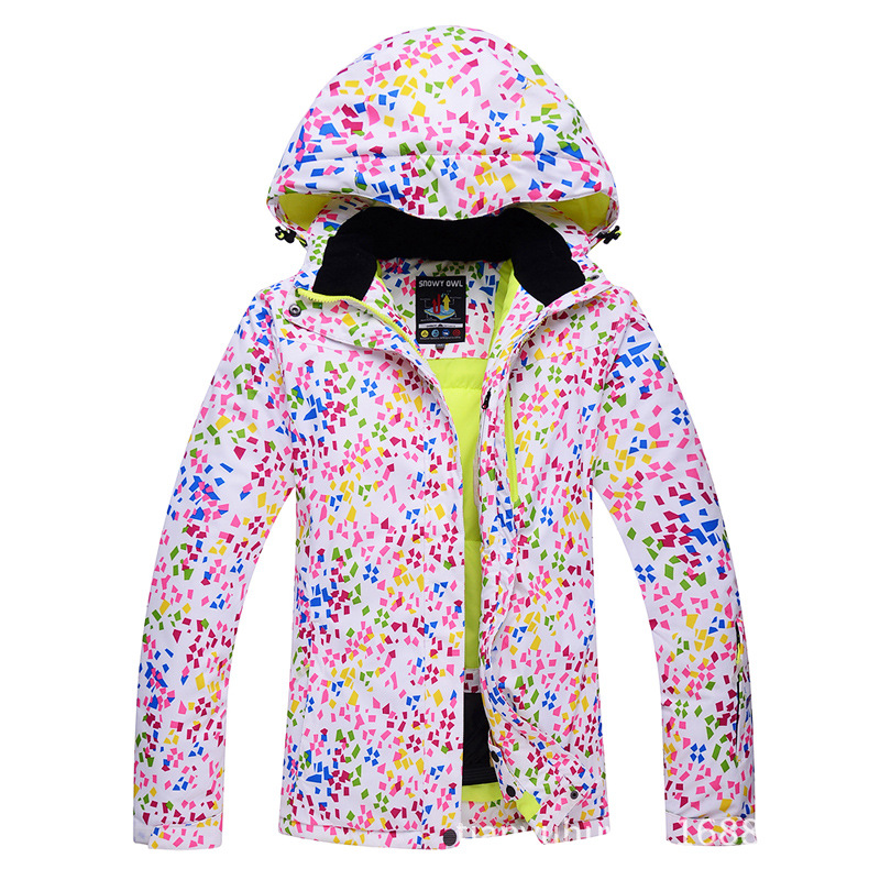 Mens Ski Jackets Printed Waterproof Windproof Male Skiing Snowboarding Jackets Winter Outdoor Sport Men's Camping Hiking Coats