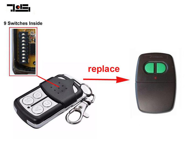 Remote Control compatible with ACCENT Garage Doors CAD602 B\u0026D Homelink 9 switch  sc 1 st  AliExpress.com & Remote Control compatible with ACCENT Garage Doors CAD602 B\u0026D ...