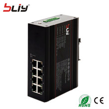 industrial Switch 8*Base-T RJ45 Fast industrial switch for outdoor