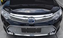 Для Toyota camry 2015 передняя решетка гриль шатона соты сетка стайлинга автомобилей не подходит для северной микро-америка стиль