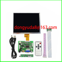 HDMI/VGA/AV Control Driver Board + 8inch HJ080IA 01E 1024*768 IPS high definition LCD Display For Raspberry Pi