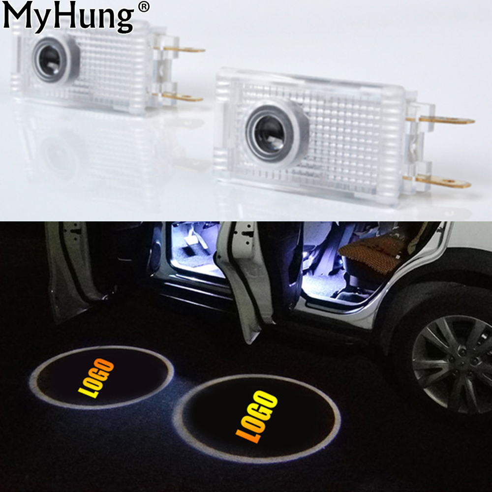 LED Car Door Projector Logo lamp Emblem Laser Shadow Welcome Light For Opel Insignia The Lighting In The Door Auto Accessories 1 pair auto brand emblem logo led lamp laser shadow car door welcome step projector shadow ghost light for audi vw chevys honda