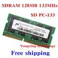 Пожизненная гарантия для микрон gps-sdram 128 МБ 133 мГц PC-133 оригинальной аутентичной SD 128 м портативный ноутбук памяти RAM 144PIN SODIMM