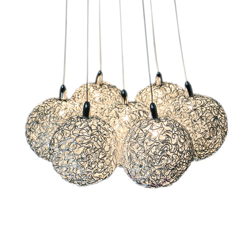 Modern lamp chandelier light ball pendant G4 LED AC110V-240V Restaurant sitting room vintage bedroom lighting fixture decoration