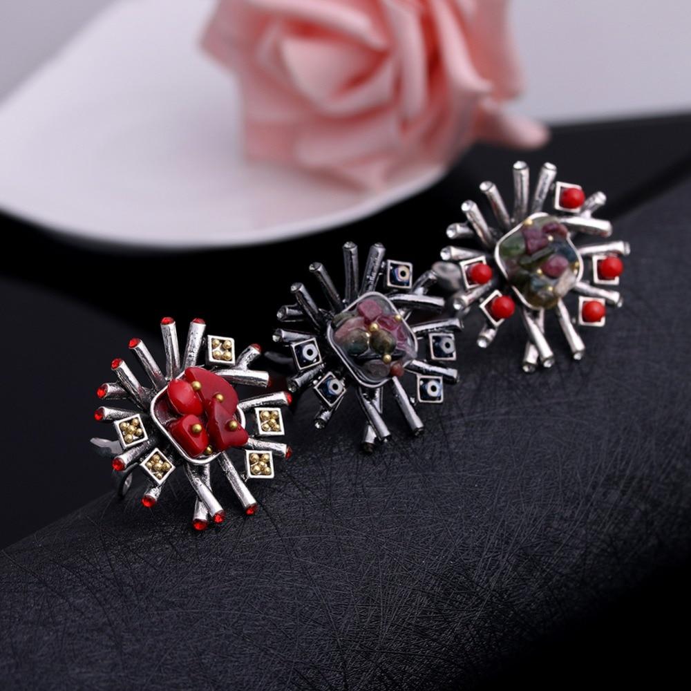 JUJIE Mode Trouwringen Kristal Steen Voor Vrouwen 2019 Sieraden - Mode-sieraden - Foto 6