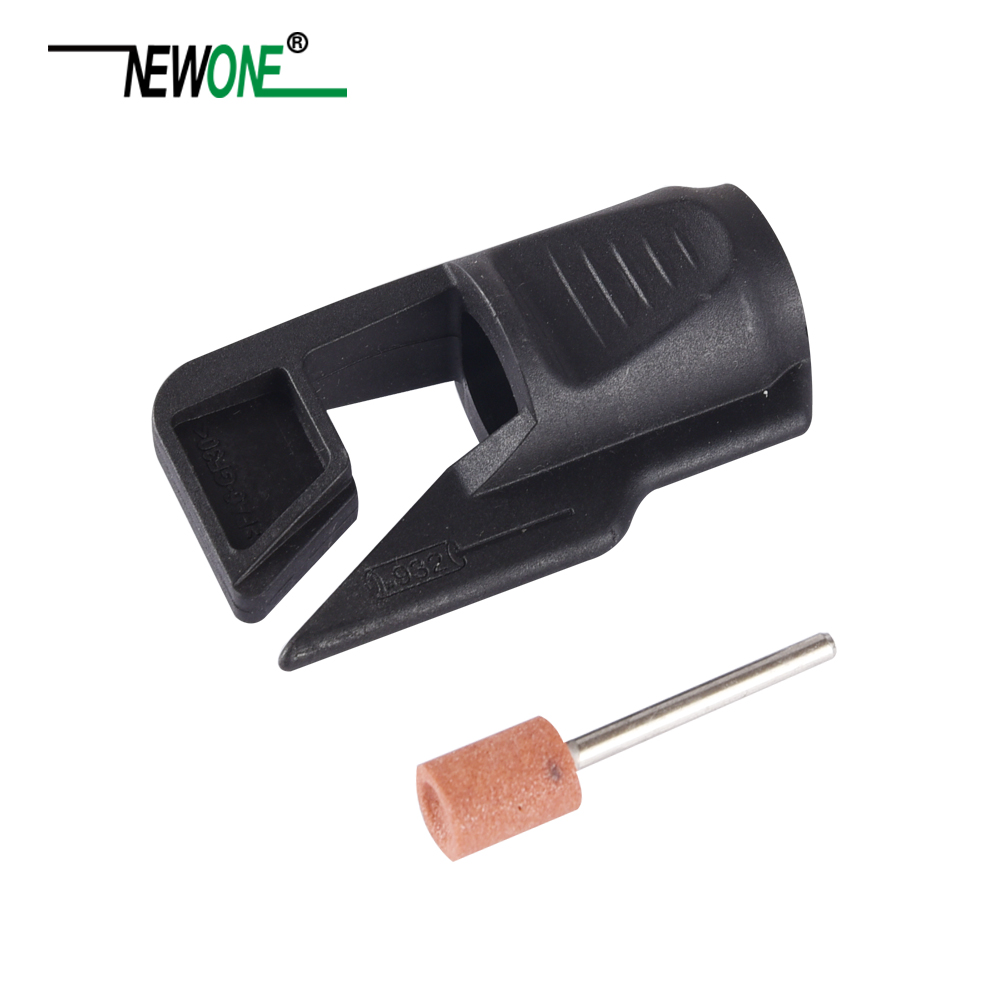 NEWONE Outdoor Garden Tool Sharpener/ Lawn Mower Sharpener Rotary Sharpening Attachment  Fits For Dremel Drill