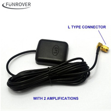 2017 Rushed Gps Receiver Free Shipping Hot Super Signal Car Gps Active Antenna With Amplification Dvd Navigation Sma Interface