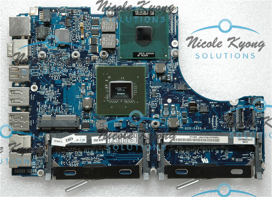 13.3 A1181 820-2496-A 661-5033 MB881LL 639-0197 P7350 2.0GHz motherboard Logic Board for MACbook A1181 631 0347 m40a mlb 820 1900 a oem logic board 1 83 t2400 ghz for m mini a1176 emc 2108 ma608 gma 950 64m