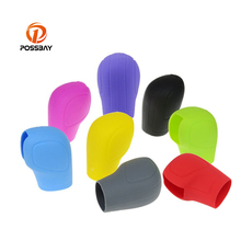 POSSBAY Manual Car Silicone Gear Shift Collars Handbrake Gri