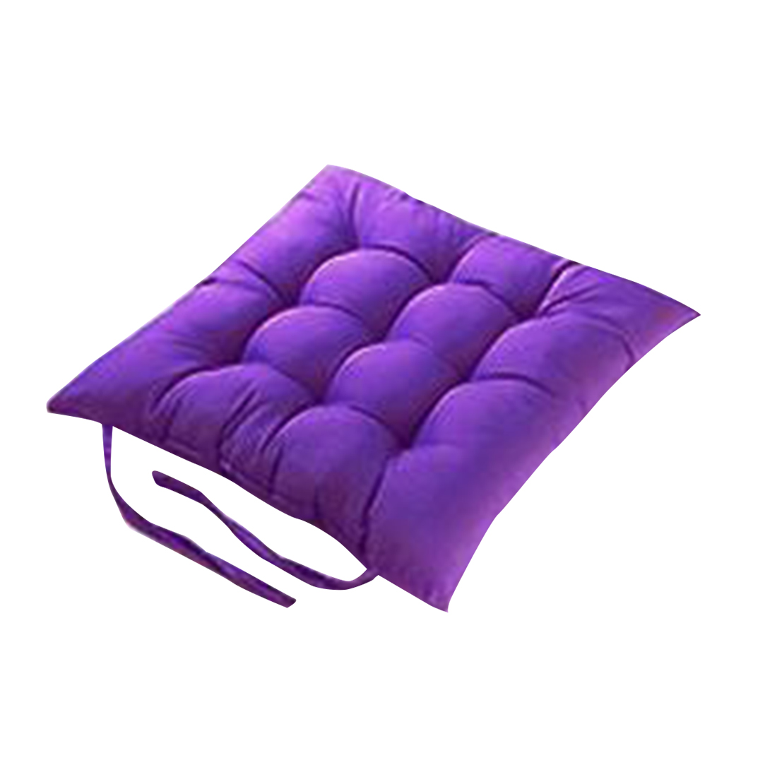 Urijk Solid Color Seat Cushion Square Floor Cushion Soft