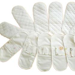 Новый 2 шт./лот Для женщин женской гигиены Многоразовые моющиеся трусики лайнер хлопок ткань менструального санитарно подгузник Полотенца