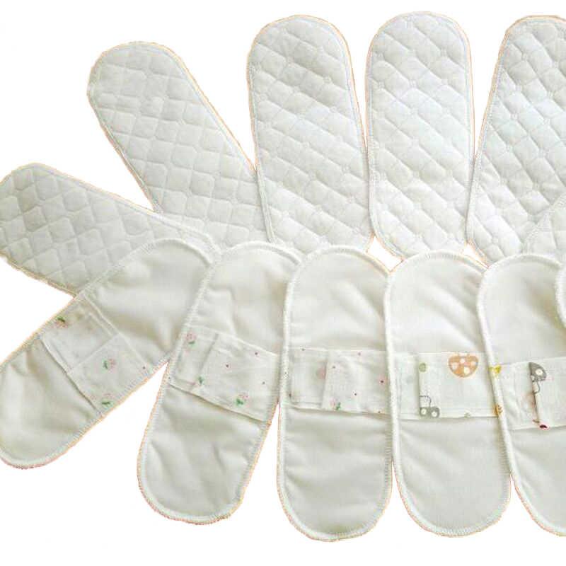Nuevo 2 Unids/lote Mujeres Higiene femenina Paño de Algodón Salvaslip Menstrual Reutilizable Lavable Pañal Pad Toalla Sanitaria 210mm Caliente
