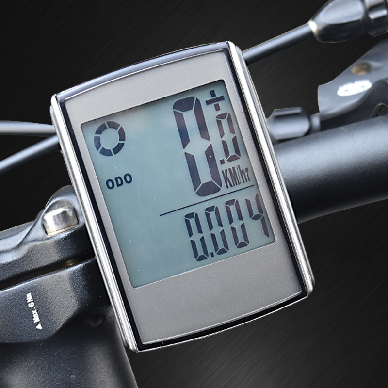 Waterproof Wireless Bike <font><b>Computer</b></font> Cycling Bicycle Speedometer with Cadence and Heart Rate Monitor