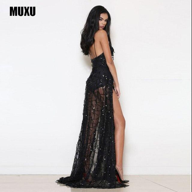 Online Shop Vestidos Sexy Cheap Clothes China Black Sequin Dress