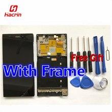 Hacrin Сяо Mi Mi3 ЖК-дисплей Дисплей + Сенсорный экран с Рамка замены для сяо Mi M3 М 3 Mi wcdma мобильного телефон