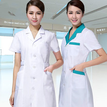 pharmacy medical clothing Short sleeves Dentist uniformes medicos clinico nurse uniform