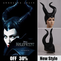 maleficent cosplay props horn for adult women maleficent hat witch dress halloween costumes sexy maleficent party fancy costume