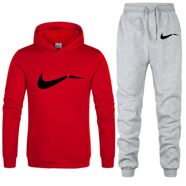 New 2019 Brand Tracksuit men thermal underwear Men Sportswear Sets Fleece Thick hoodie+Pants Sporting Suit Malechandal hombre 4