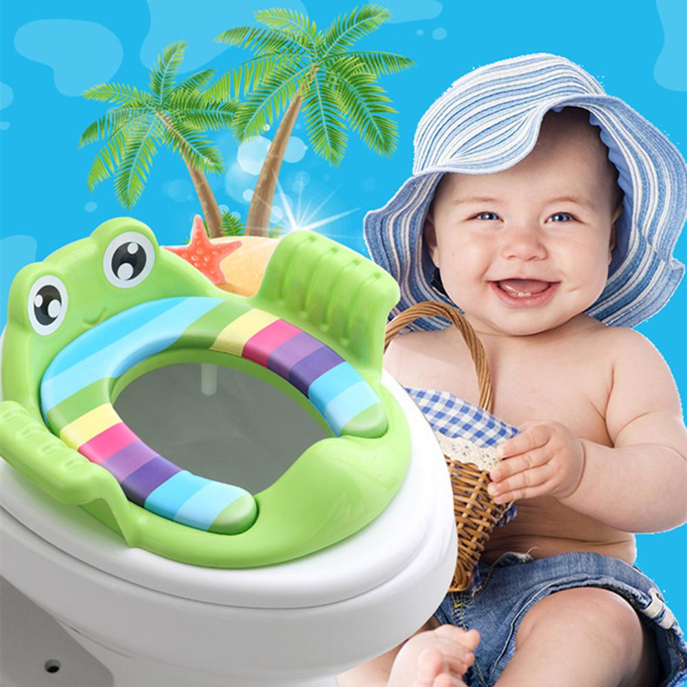 Kidlove Children Toilet Seat Anti-fall Seat Potty Cover Ladder For Baby Infant(China)