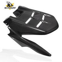 Для YAMAHA FZ07 mt 07 FZ 7 2013 2018 MT07 мотоцикл Задняя шина облегающее крыло брызговик Настоящее углеродное волокно высокого качества крышка комплект